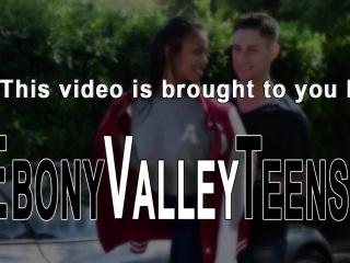 Classy ebony valley teens
