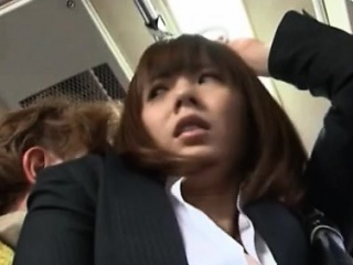Things get sexy as this japanese girl fucks publicly