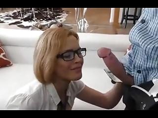 BustySchoolGirl Kris Sy Ly Nn getsHer PussyCum