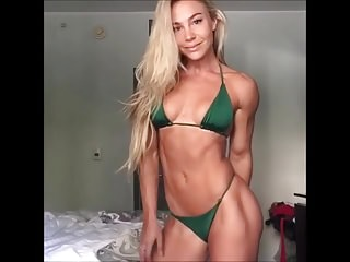 beautiful fitness chick