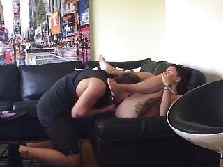 Boyfriend with a big dick fucking her princess