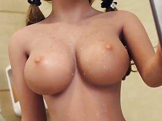 Realistic sex doll, unleash anal creampie blowjob fantasies